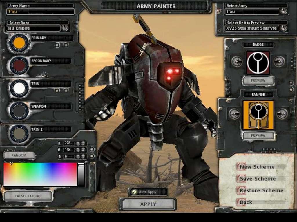 Tau Codex Weapons