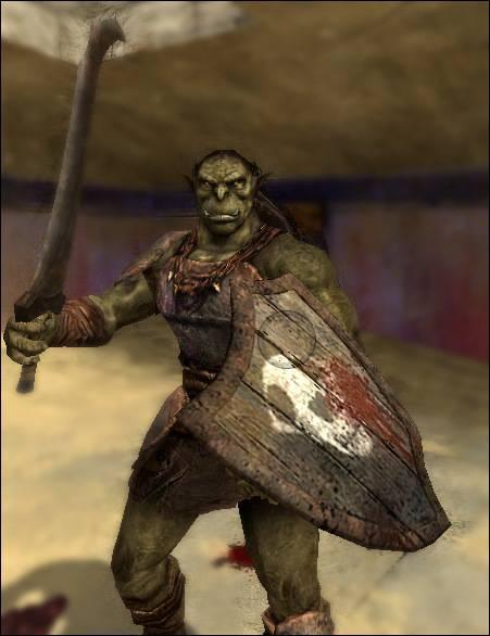 Green Orcs Skin