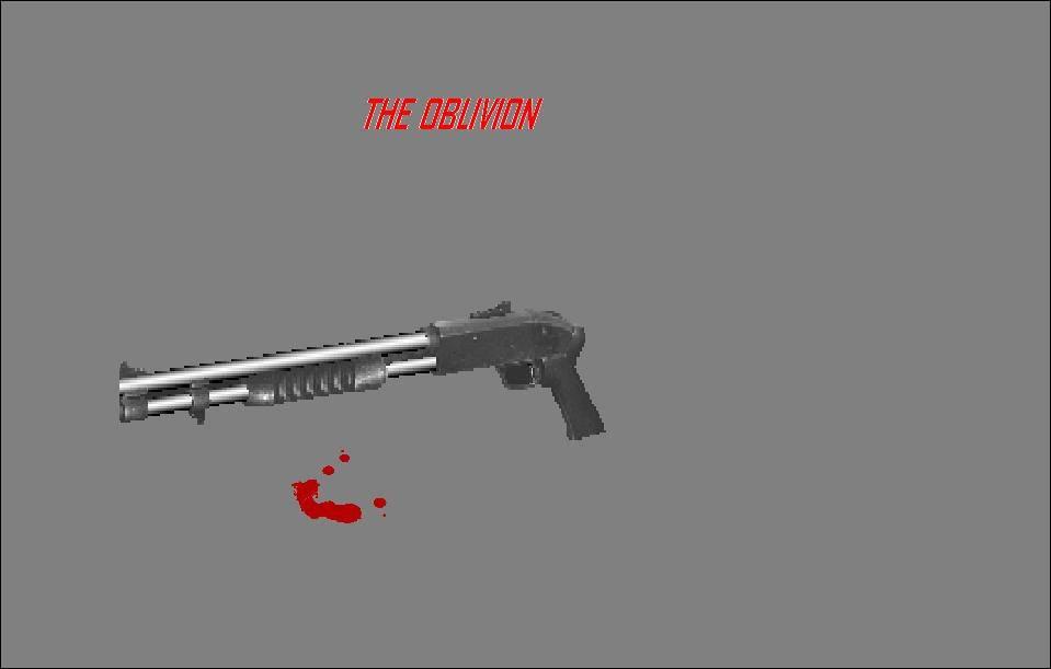 Oblivion Shotgun Skin