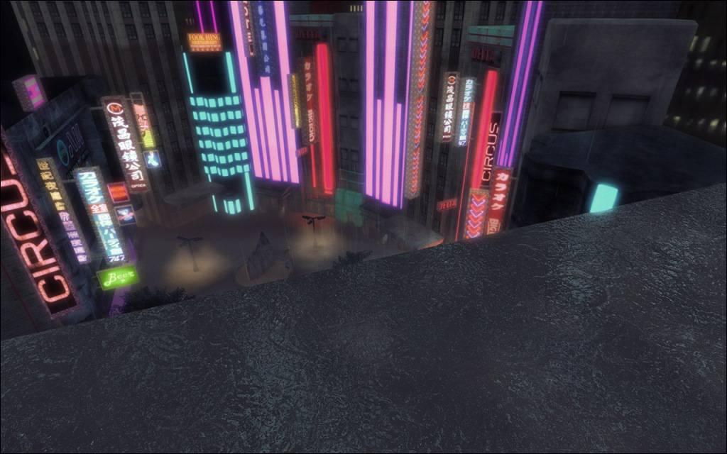 Cyberpunk Noir City Environment