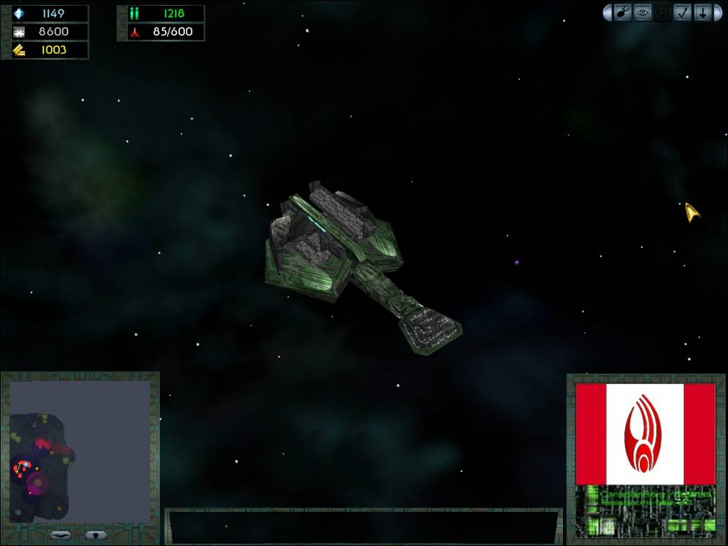 Klingon Cargo Ship