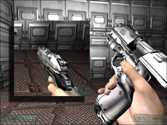 Chrome Pistol