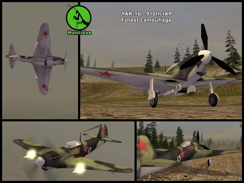 Mantidae's Yak-1 Forest Camo