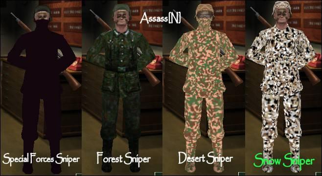Assassin Sniper Pack