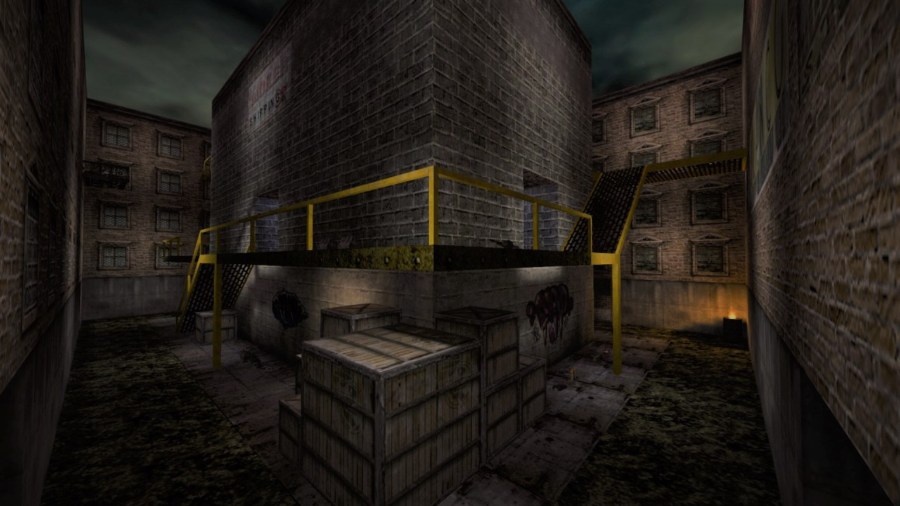 Stronghold Death Match Map