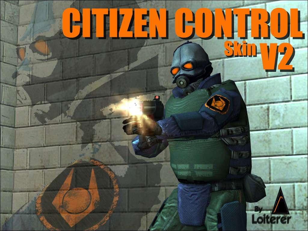 Half-Life 2: Citizen Control Combine NPC Skin