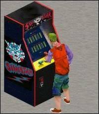 Sinistar Arcade Game