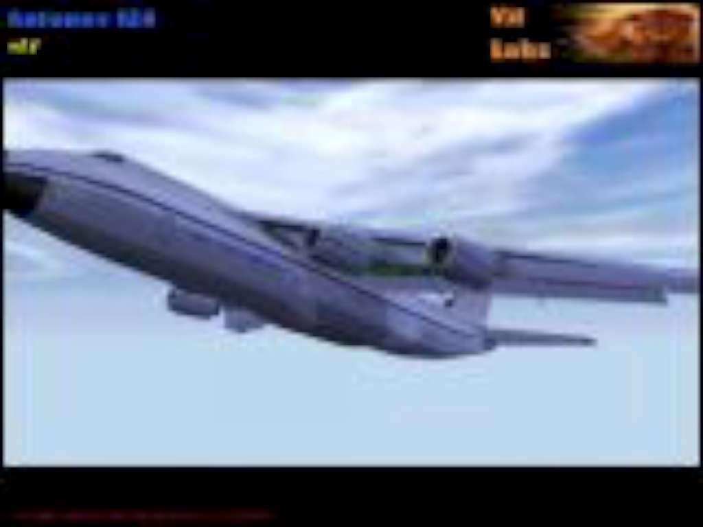 Antonov 124 plane by Vit