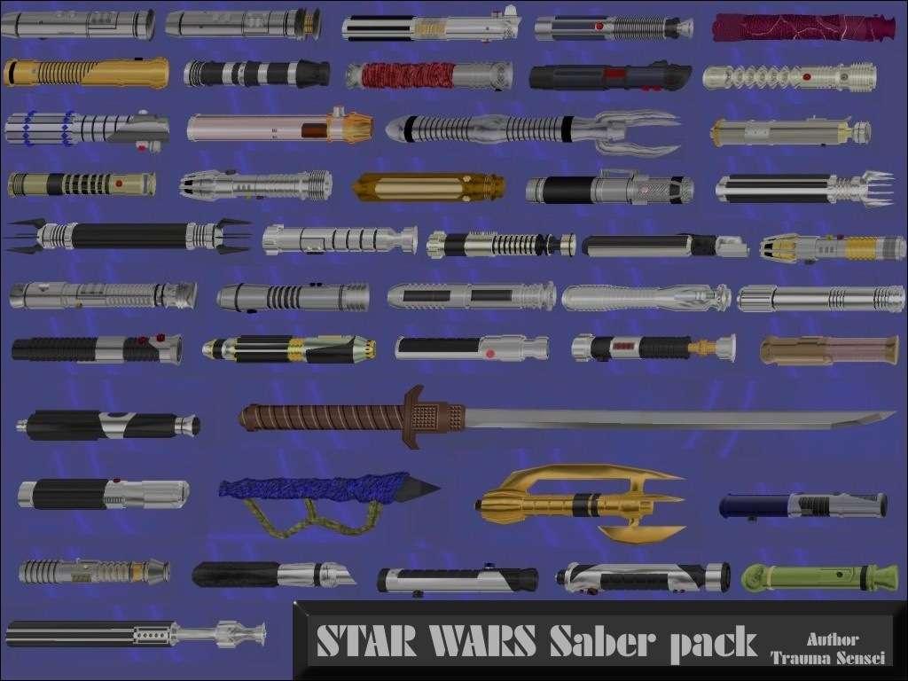 Star Wars Saber pack