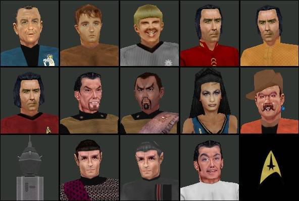 TOS Characters Volume 2 Collection