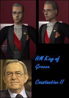 King & Queen of Greece