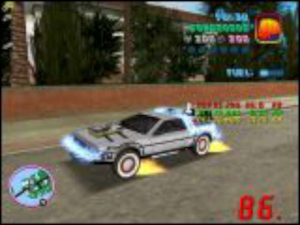 Back to the Future: Hill Valley for GTA Vice City