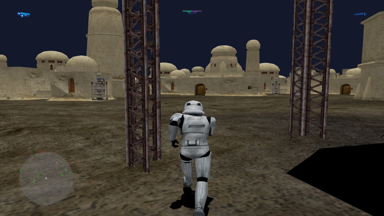 Star Wars: Battlefront Mos Eisley Cross Era Night Time