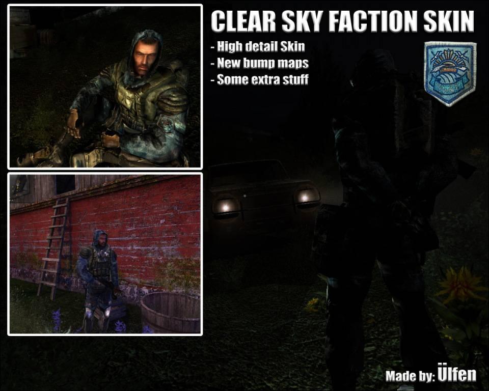 Clear Sky Faction suit