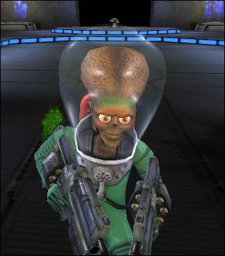 Mars Attacks Martian 2K4