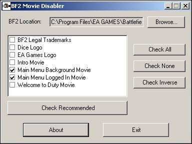 BF2 Movie Disabler