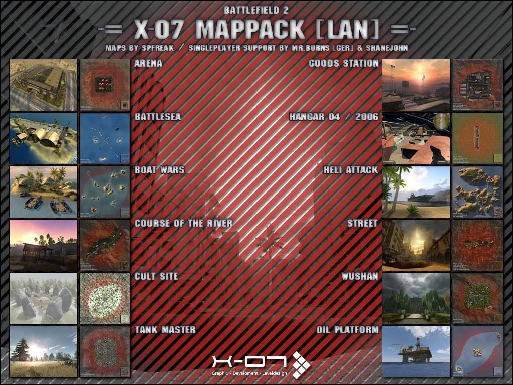 X-07 MAPPACK [LAN]