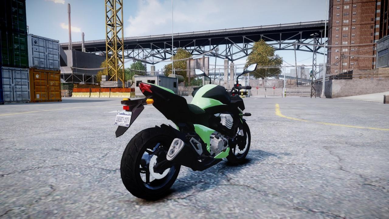GTA IV: Kawasaki Z1000 MKII