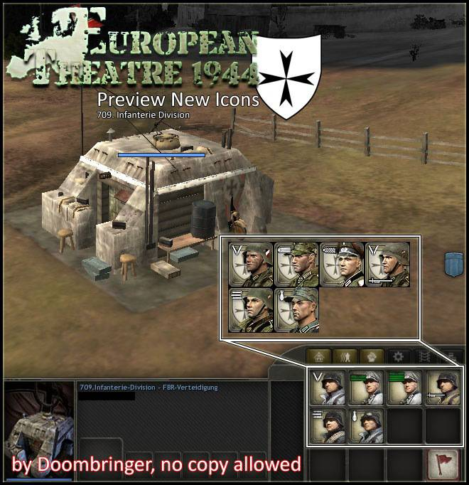Normandy 44: European Theater 1.1 Patch
