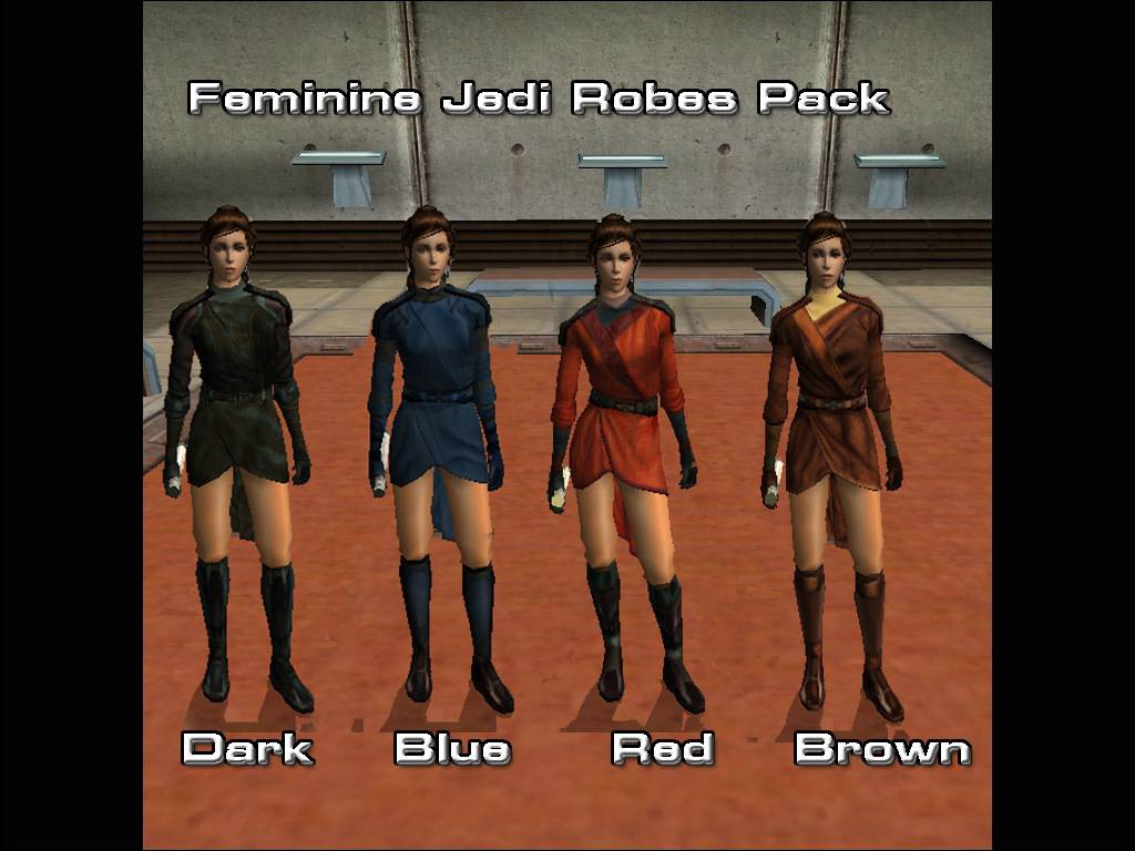 Feminine Jedi Robes Star Wars Knights Of The Old Republic Mods Maps Patches News Gamefront