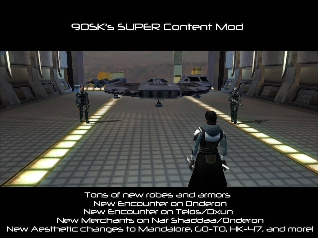90SK's SUPER Content Mod