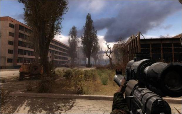 STALKER CALL OF PRIPYAT - CHEAP AND POWERFUL WEAPON