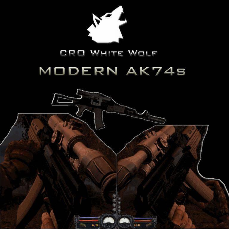 Modern AKs-74M