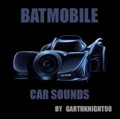 Batmobile car sounds