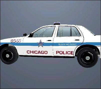 Chicago  Crown Victoria Police Car