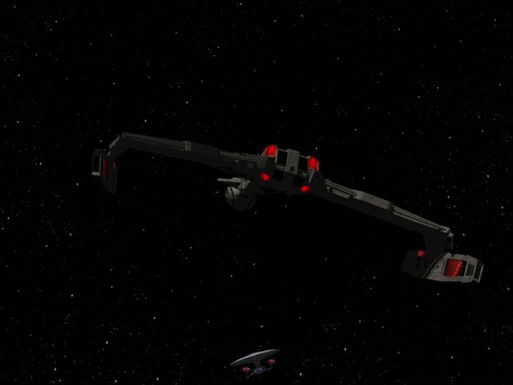 Klingon D 4 battle cruiser