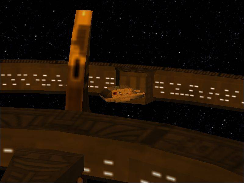 TMP Orbital shuttle
