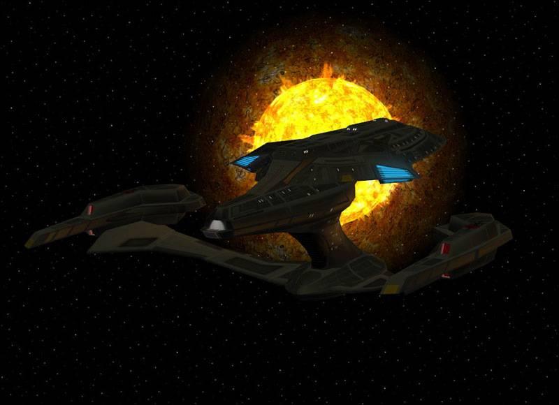 Terran Empire Bloodwolf Class - ISS Enterprise