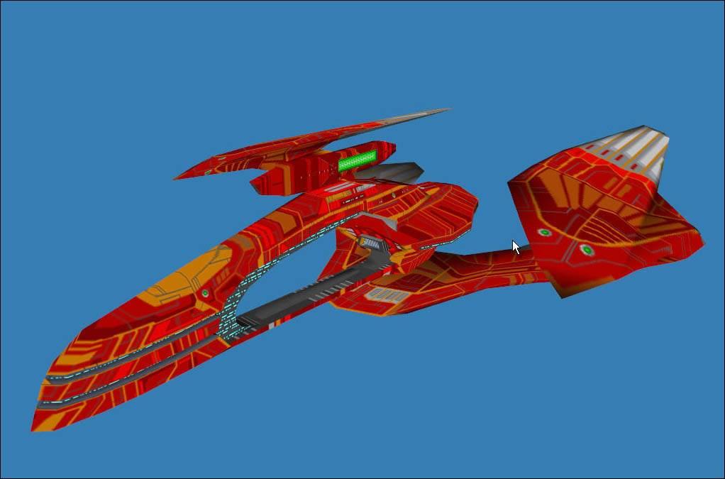 Ratar V1 Vulcan cruiser (changed to green)