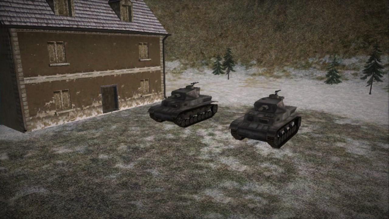 Secret Weapons Tank Ladder Maps