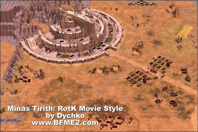 Minas Tirith: Return of the King Style