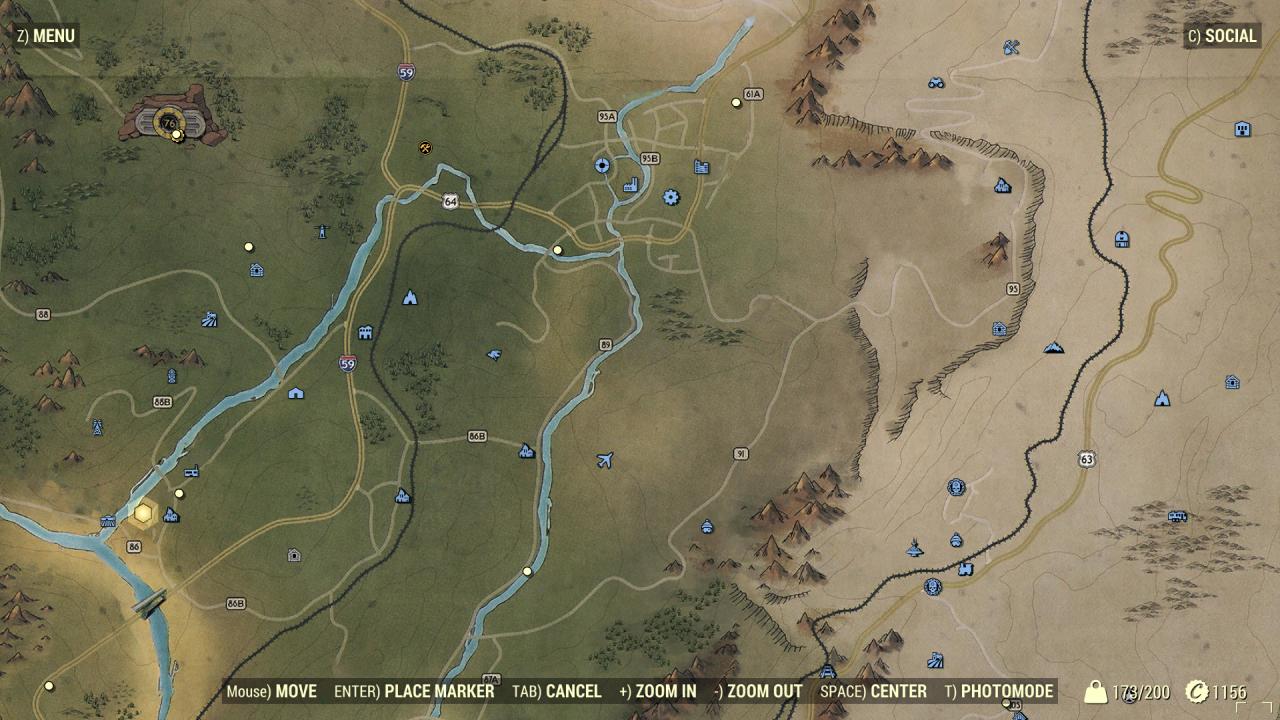 Spoiler Free Map