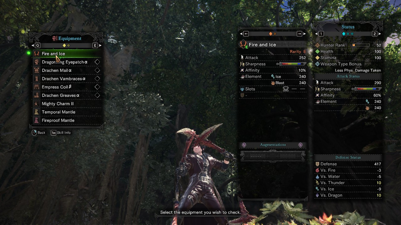 Fire and Ice Replacer (Odogaron's Sin)