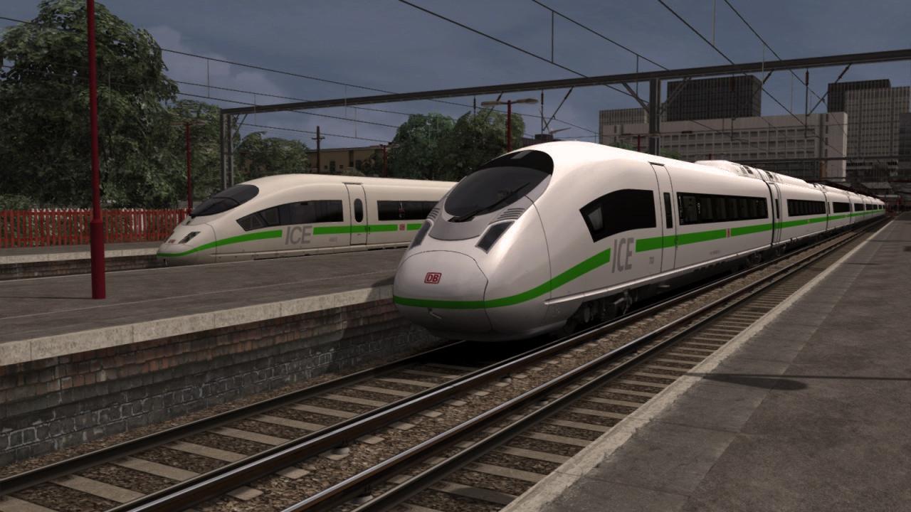 ICE 3M (406) + New ICE 3 (407) DB Green
