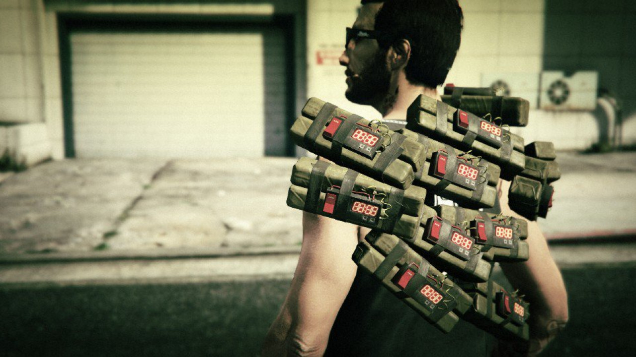 GTA V Sticky Bombs Mod