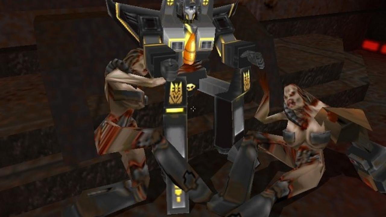 Quake 2 Mod Transformers Quake v4.10