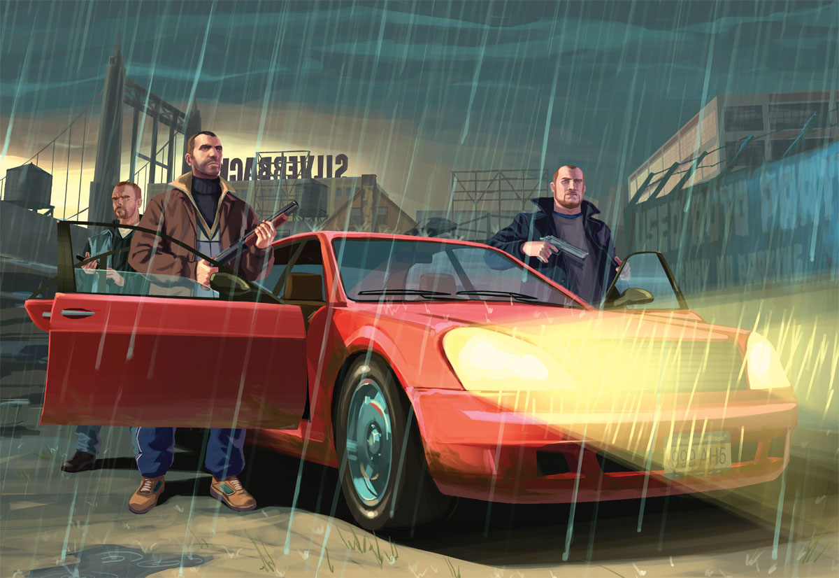Grand Theft Auto IV Euro TV Trailer