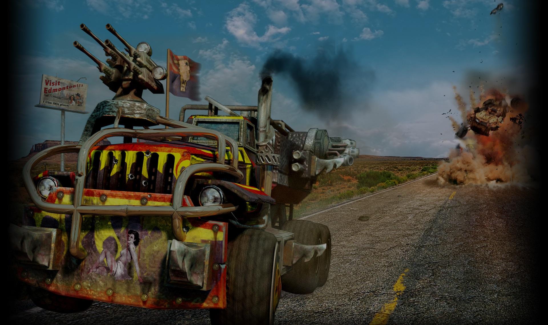 Hard Truck Apocalypse Wallpaper #3 (1600x1200)
