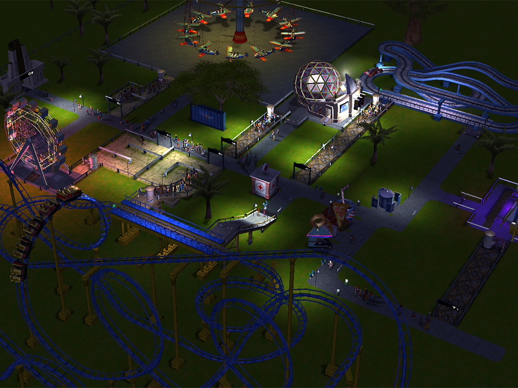 RollerCoaster Tycoon 3 Update v1A Beta to v2 - European