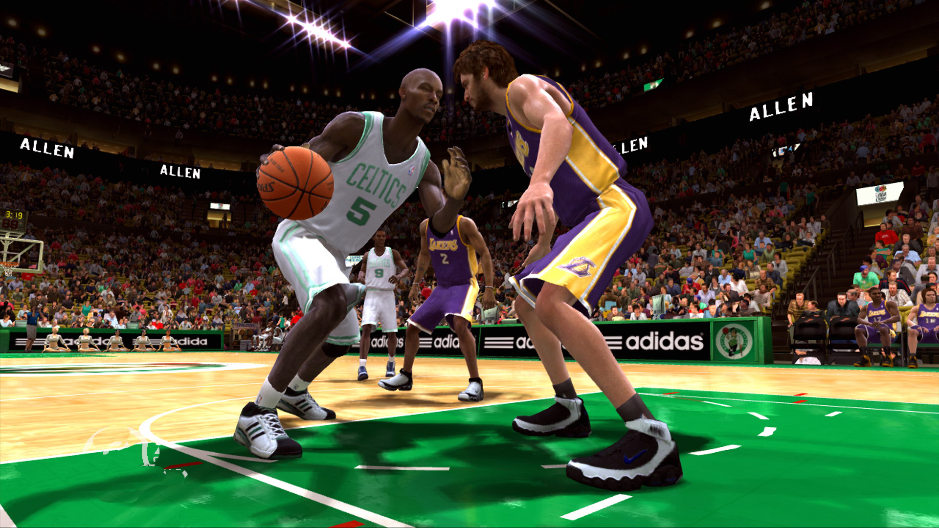 NBA Live 08 'Go-to Moves' Trailer
