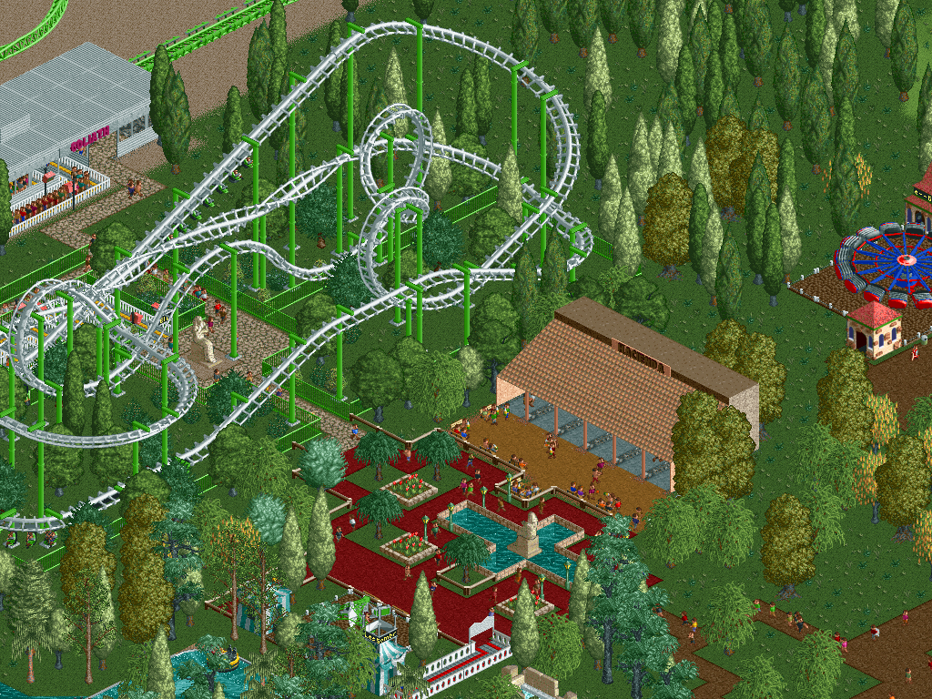 RCT2 Screensaver