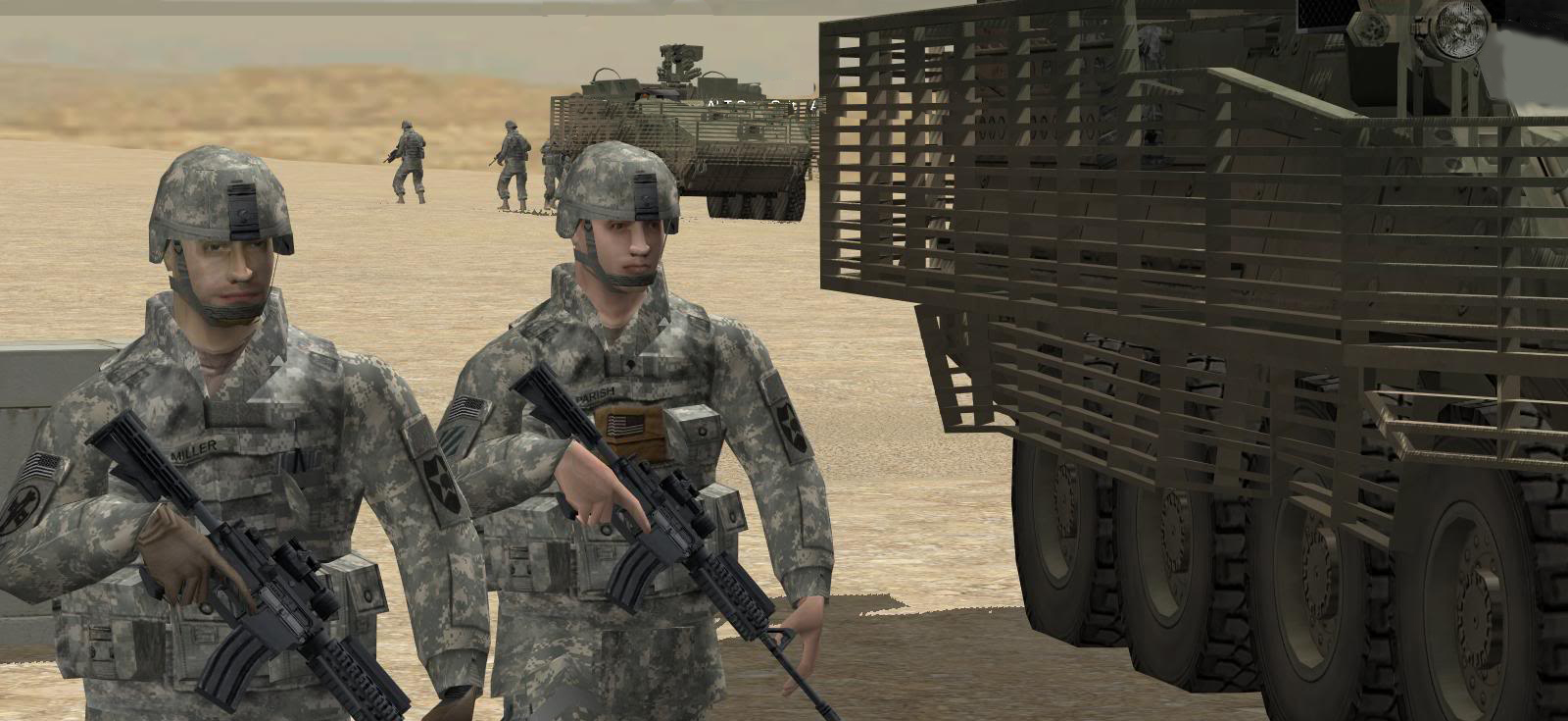 Combat Mission Shock Force 'Firefight' Video