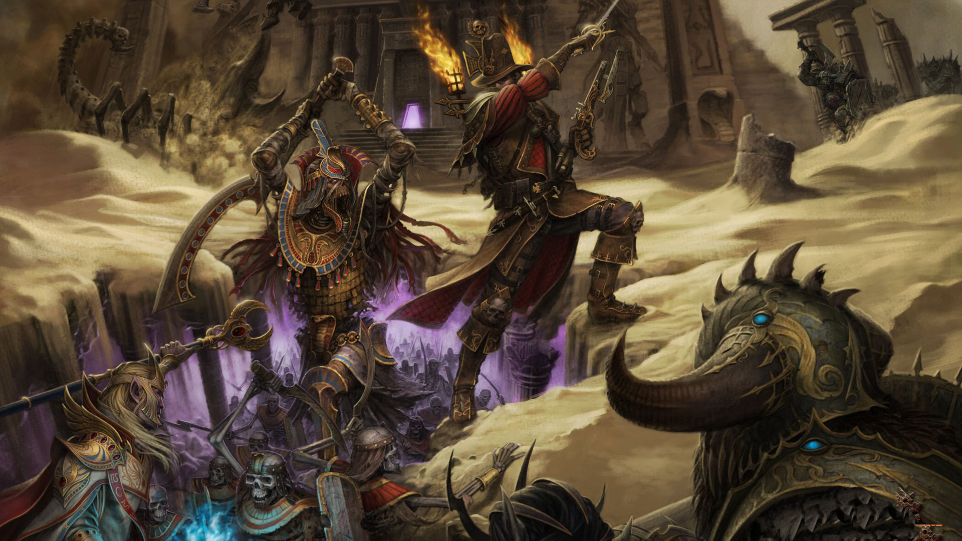 Warhammer Online Wallpaper 45 (Wide)