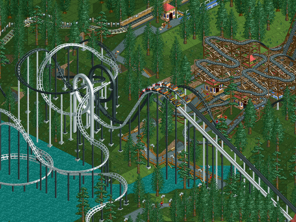RollerCoaster Tycoon: Added Attractions v1.10.021 Patch - Italian