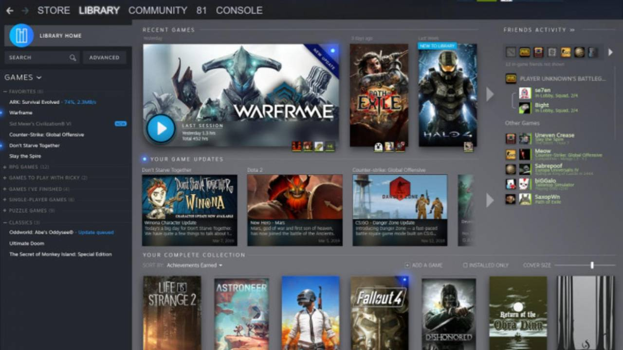 Steam Library getting a much needed redesign! - Gaming Today