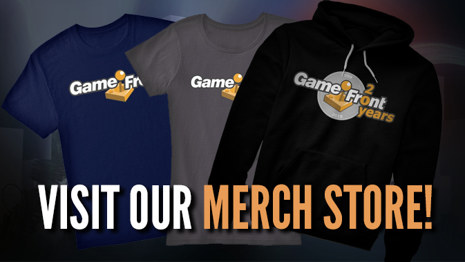 Get sweet GameFront Merch!